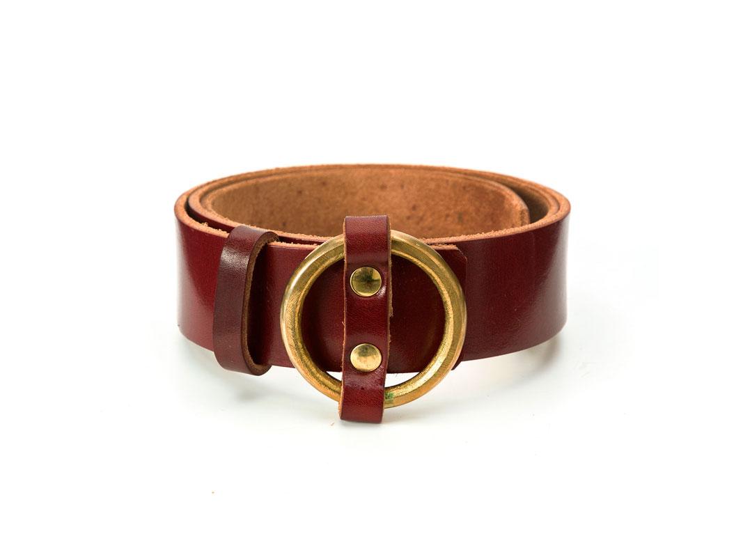 Cinturón Bowaca marrón oscuro