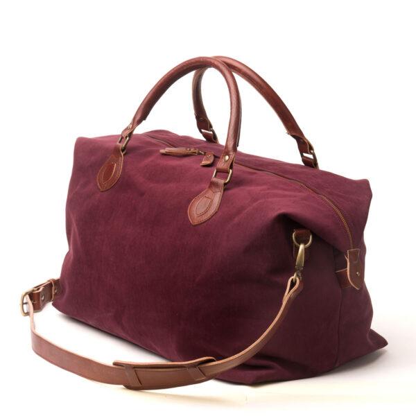 bolsa de viaje personalizable burdeos