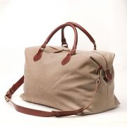 bolsa de viaje personalizable beige