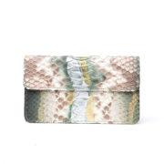 cartera de piel de piton bowaca