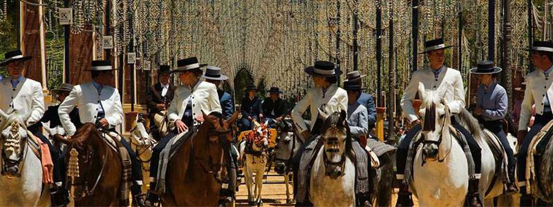 Feria del caballo Jerez