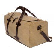 bolsa de viaje con inicales beige