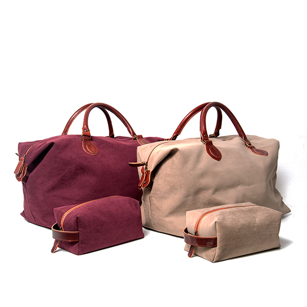 pack de bolsa de viaje personalizable y neceser con inicales