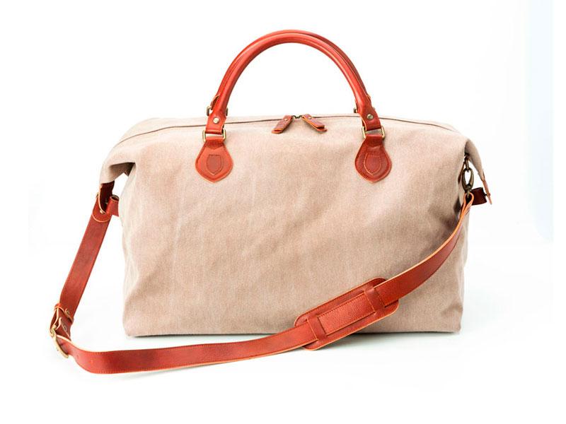 bolsa de viaje eco beige