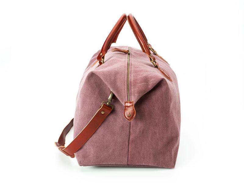 bolsa de viaje granate
