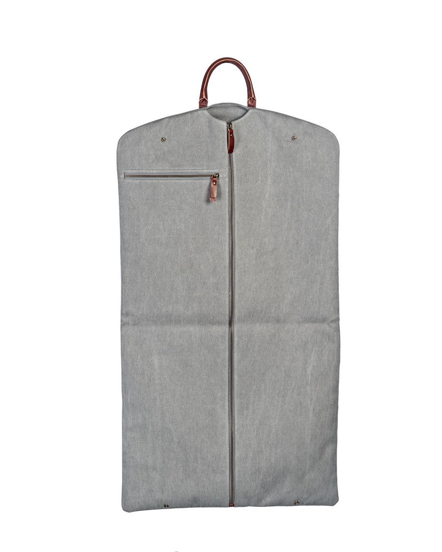 portatrajes gris claro de bowaca entero