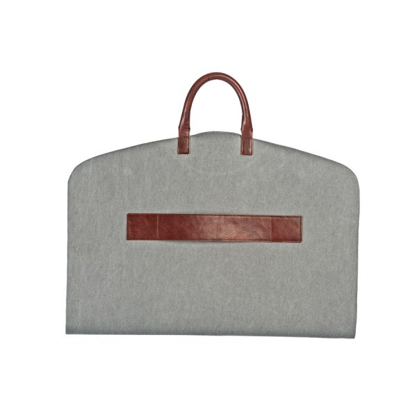 portatraje gris eco bowaca corto doblado