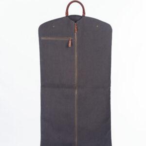 portatrajes gris oscuro bowaca abierto
