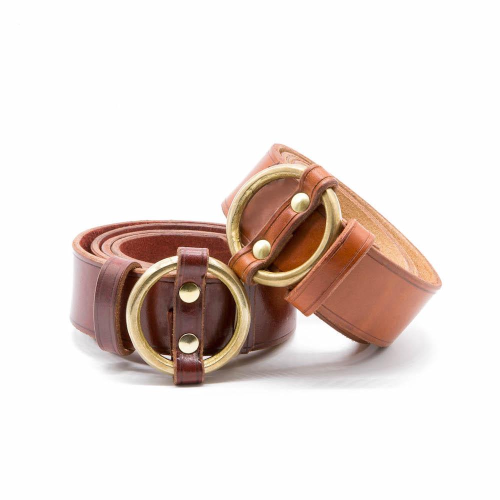 Cinturones marrones