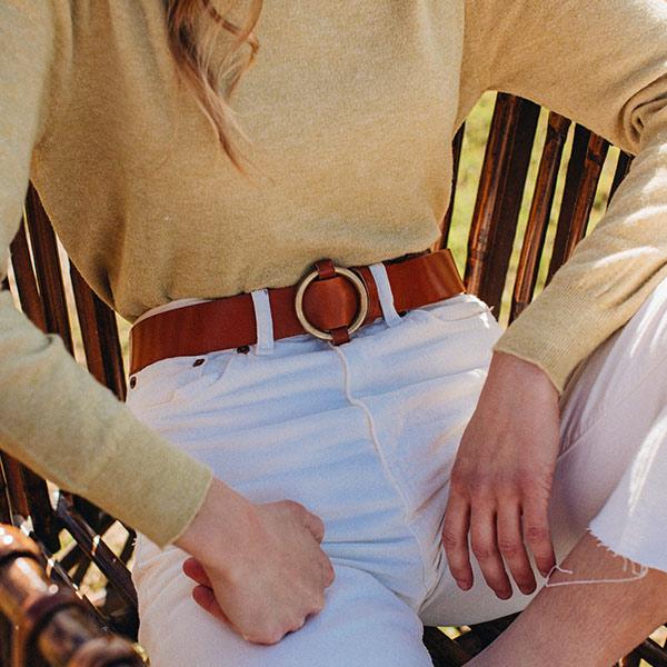 saber talla de cinturones de piel de ubrique