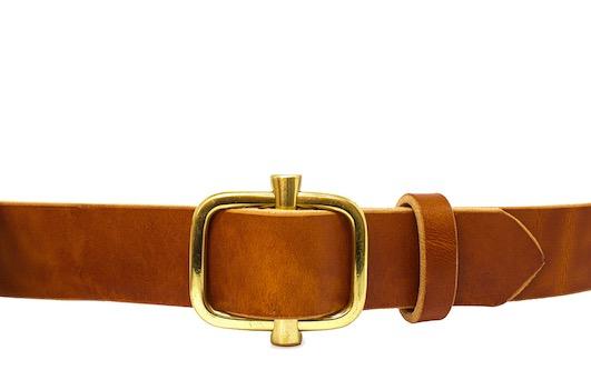 cinturón de piel bowaca